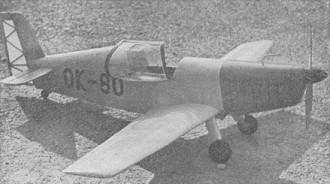 Racek model airplane plan