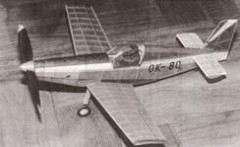 Racek R-7 model airplane plan