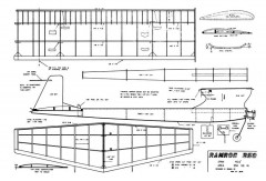 Ramrod 250 model airplane plan