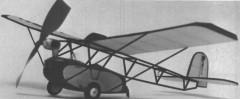 Ramsey model airplane plan