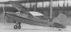Ranquel model airplane plan