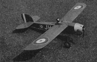 Rapid model airplane plan