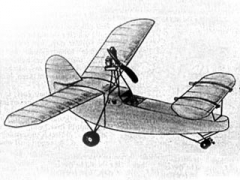 Rassitoodus model airplane plan