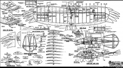 Raven II RCM-1160 model airplane plan