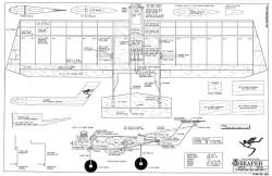 Reaper model airplane plan