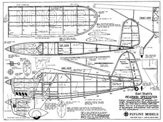 Rearwin model airplane plan
