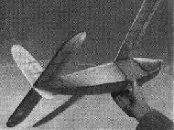 Rebel model airplane plan