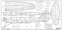 Red Zephyr model airplane plan