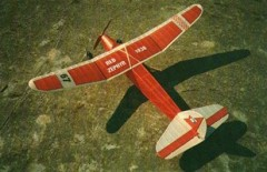 Red Zephyr model airplane plan