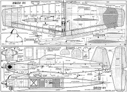 Reno 01 model airplane plan
