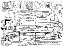 Retracting Gear Airliner 38in model airplane plan