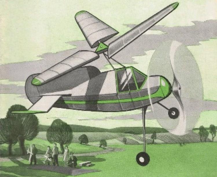 Rotator IV model airplane plan