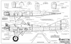 Rumpler 4C Taube-RCM-08-94 1173 model airplane plan