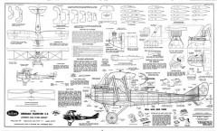 Rumpler C5 model airplane plan