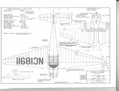 Ryan S-CW145 model airplane plan