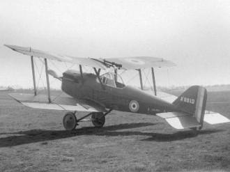 S.E.5 model airplane plan