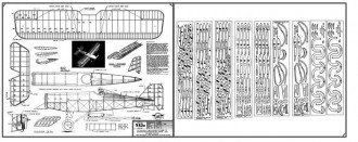 S.E. 5a model airplane plan