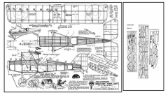 S.E. 5a California model airplane plan