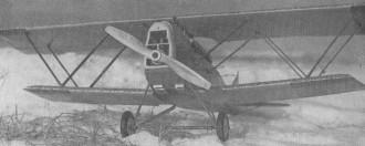 SVA 5 Ansaldo model airplane plan