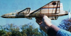 Saab Jas 39 Gripen model airplane plan