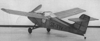 Saab MFI-17 Safari model airplane plan