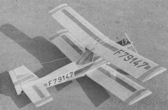 Safir model airplane plan