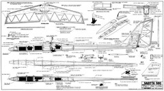 Sagitta 900 model airplane plan