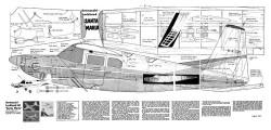 SantaMaria model airplane plan