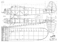 Satyr model airplane plan