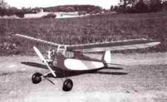 Satyr model airplane plan