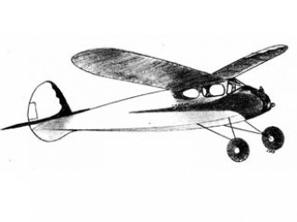 Scram model airplane plan