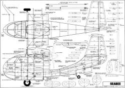 Sea Bee Tom Mountjoy model airplane plan