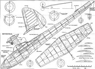 Seagull model airplane plan