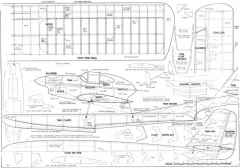 Sea Horse model airplane plan
