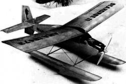 Seahorse II model airplane plan