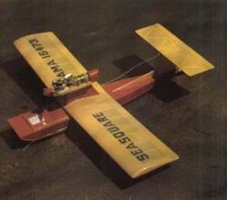 Seasquare model airplane plan
