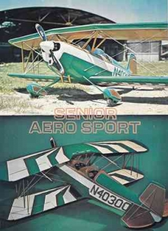 Senior Aero Sport model airplane plan