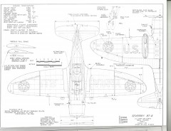 Seversky BT-8 model airplane plan