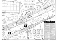 Shark 45 model airplane plan