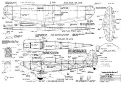 Shoestring new model airplane plan
