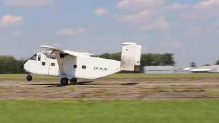 Short Skyvan model airplane plan
