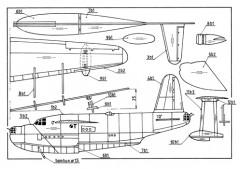 Short Sunderland model airplane plan