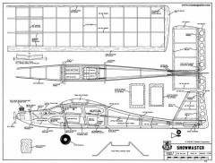 Showmaster model airplane plan