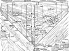 Sidewinder model airplane plan