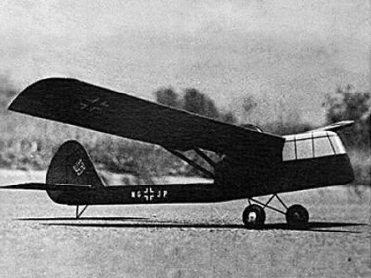 Siebel Si 201 model airplane plan