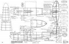 Sikorsky S-43 model airplane plan