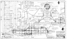 Sikorsky S39B Amphibian model airplane plan