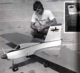 simitar 2100 model airplane plan