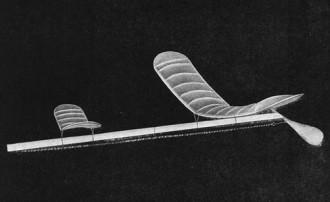 Single Stick model airplane plan