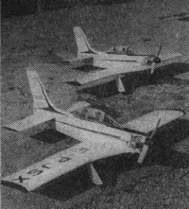 Sirocco model airplane plan